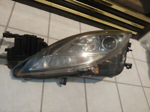 2009 2010 Mazda 6 Driver Side Left Lh Xenon Headlight Clear Good Condition