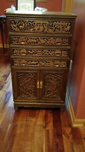 Vintage Asian Silver Chest Early 1970 S