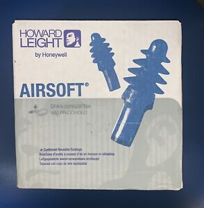 100ct Howard Leight Dpas 30rg Airsoft Reusable Corded Ear Plugs Nrr 27 100 Pair