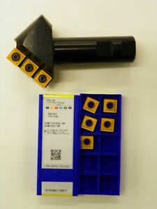 Indexable 82 Countersink Chamfer Tool W 20pcs Scmt432hr Ybc251 B787