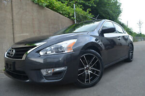 Gwg Zero Wheels 18 Inch Black Machined Rims Tires Fits 2016 Nissan Altima