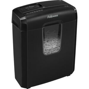 New Fellowes 4771502 Powershred 6c Cross cut Shredder Paper Powershed Crosscut