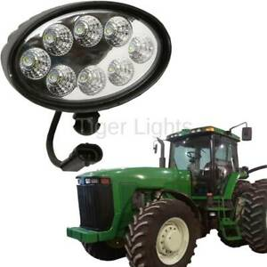 Led Oval Tractor Light tl8000 Fits John Deere oem Re154906 Re63958