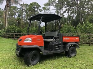 2010 Kubota Rtv900 Atv Side By Side 4 X 4