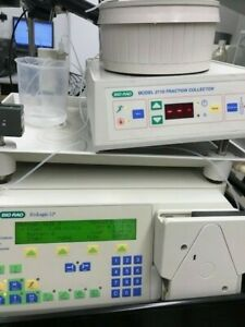 Bio Rad Biologic Lp Fplc Chromatography System W fraction Collector 2110