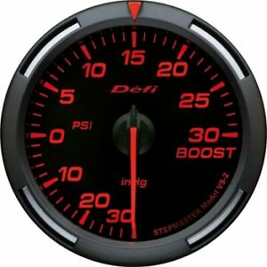 Defi Df Racer 60mm Red Psi Turbo Boost Gauge Df11502