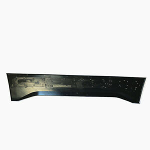For 15 17 Ford F150 Tailgate Applique Raptor Style Gray Rear Trim Panel New