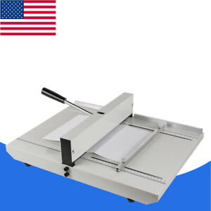 us manual Paper Creaser Creasing Machine 350mm A4 Card Covers High Gloss Covers