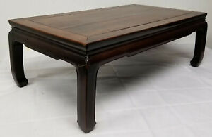 Dfine Antique Chinese Huanghuali Zitan Low Table Kang 18th Century Ming Style