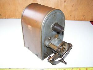 Old Kw Model T Ihc Mogul 10 20 Tractor Magneto One Cylinder Hit Miss Engine Hot