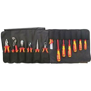 Knipex 13 piece Electrician s 1000 volt Insulated Tool Set In Tool Roll