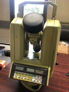 Leica Theomat Wild T3000 Theodolite Total Survey Station W Case Like New Battery