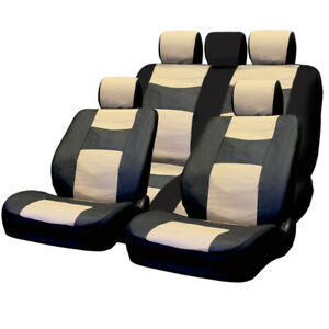 For Toyota Pu Leather Car Truck Suv Seat Covers Set Premium Grade New