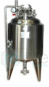 75 Liter Stainless Steel Jacketed Reactor