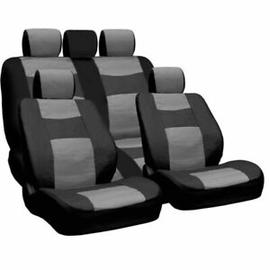For Toyota Pu Leather Car Truck Suv Seat Covers Set Premium Grade New Bg