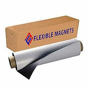 Flexible Magnet Adhesive Sheets Sheet With Adhesive 30mil Thick Ideal For Diy