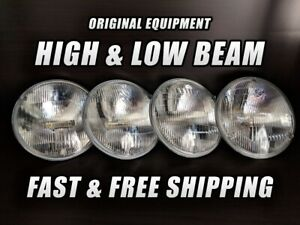 Oe Front Halogen Headlight Bulb For Volvo 264 1976 1980 High Low Beam X4