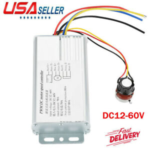Dc 12 60v 70a 4000w High Power Dc Motor Speed Controller Brush Motor Controller