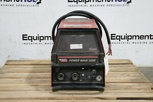 Lincoln Electric Power Wave 355m 350 Amp Advanced Process Welder Power Source