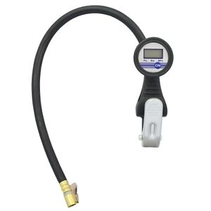 Digital Tire Pressure Gauge Inflator Air Chuck Tire Inflator With Gauge Lematec