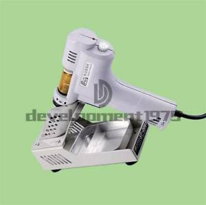 110v 220v Electric Vacuum Desoldering Pump S 995a Soldering Iron Sucker Gun 100w