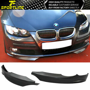 Fits 07 10 Bmw 3 series 325i 328i 335i Oe Pair Front Lip Splitters Coupe Pp
