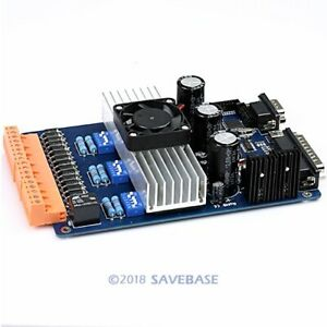 Upgraded 3 Axis Tb6600hg Stepper Driver Controller For Cnc Router Mini Millling