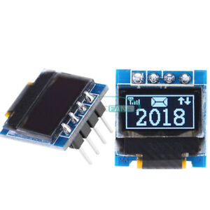 0 49 i2c Iic Oled White Display Screen Module Ssd1306 64x32 For Arduino