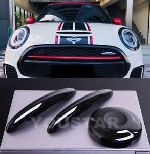 Us Stock Piano Black Door Handle Covers Petrol Gas Cap Mini Cooper S F56 F57