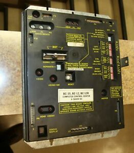 Rowe Bc 12 Computer For Bill Changer Machine Part No 65049003 Tested Good