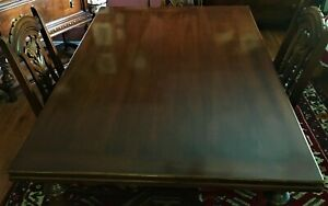 Jacobean Dining Table W 6 Chairs Local Pick Up Only
