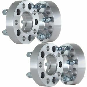 4pc 1 25 5x4 5 Wheel Spacers 1 2 Studs For 1991 2007 Ford Crown Victoria