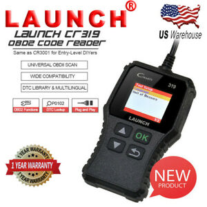 Automotive Universal Obd2 Scan Tool Car Code Reader I M Readiness For Diy Users