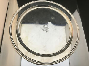 Tiffany Sterling Serving Plate 11 Wide