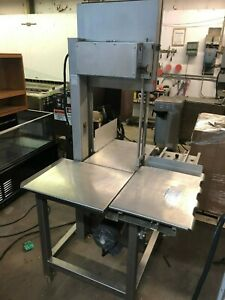 2017 Hobart 6801 Meat Saw 142 Commercial Butcher Beef Bone Meat Saw 200 230v 3p
