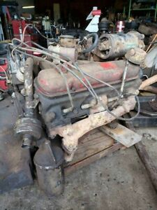 1956 Pontiac 316 V8 Complete Running Engine Will Ship