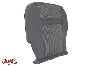 2006 2008 Dodge Ram 1500 Slt Single cab driver Side Bottom Cloth Seat Cover Gray