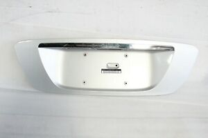 2003 2006 Mercedes W220 S430 S500 S55 Trunk Lid License Plate Cover Panel J8657