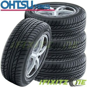 4 New Ohtsu Fp7000 By Falken 205 60r16 92v High performance All Season Tires