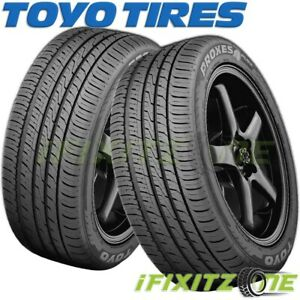 2 Toyo Proxes 4 Plus 225 40r19 93y Ultra High Performance All Season Tires