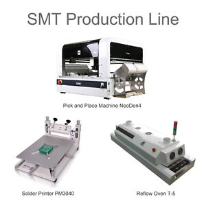 Neoden Smt Line Pick And Place Machine Vision System oven printer