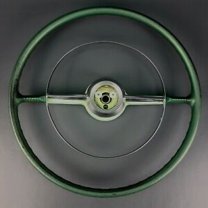 Original Gm Oem 1953 1954 18 Chevy Chevrolet Bel Air Steering Wheel 210