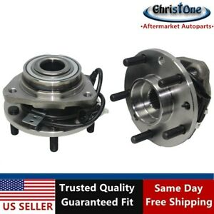 2 Front Wheel Bearing Hub Assy For 98 04 Chevy Blazer S10 Gmc Sonoma 4x4 513124
