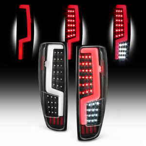04 12 Chevy Colorado Gmc Canyon Full Led Neon Tube Black Tail Light Signal Lamp