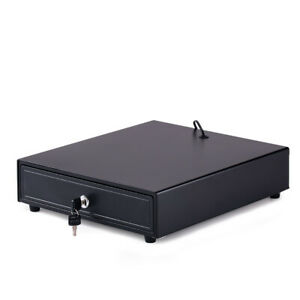 Electronic Cash Drawer Box Case Trays Cash Drawer 4 Cash 5 Coins Y