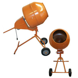 Tall 5 Cubic Ft Portable Cement Concrete Mixer New