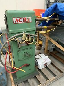 Acme 20 Kva Spot Welder With Intertron Control 108