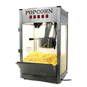 Paramount 16oz Commercial Popcorn Maker Machine 16 Oz Kettle Popper silver