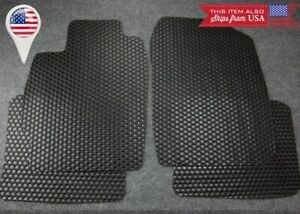 4 Pcs Black All Weather Oe Heavy Duty Rubber Floor Mats For 04 10 Scion Tc