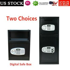 New Electronic Digital Safe Box Keypad Lock Security Home Office Cash Jewelry Us